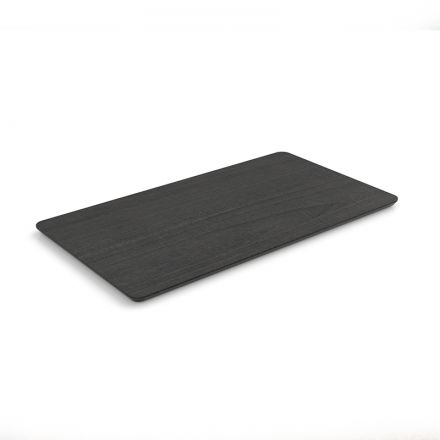 COFFEE TABLE TOP - 90X50CM - BLACK PLYWOOD