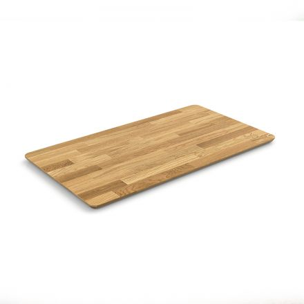 COFFEE TABLE TOP - 90X50CM -  SOLID OAK