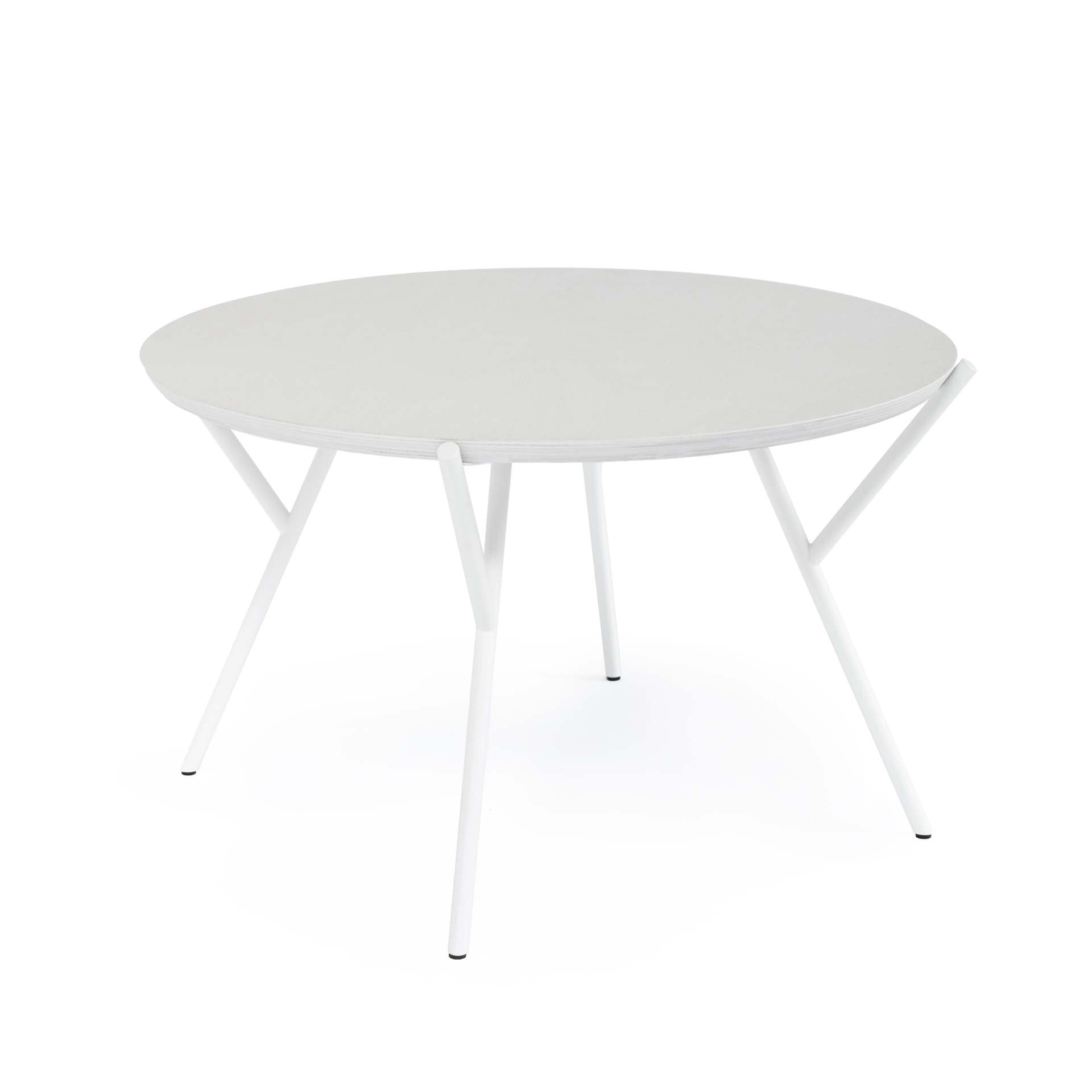 WHITE COFFEE TABLE - BIRCH PLYWOOD